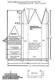 Image result for cardboard boat design blueprints