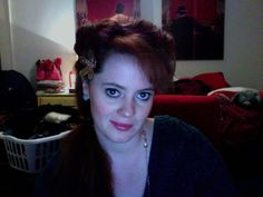 "most recent: This hair style is actually inspired by  Dolores' hair style in ""Who Framed Rodger Rabbit"", one of the best movies of all time. I, though, side swept my bangs, added a flower, and put my hair in a pony tail."