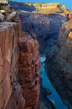 Toroweap Overlook, North Rim, Grand Canyon National Park.  Photo: SheldonBranford via Flickr