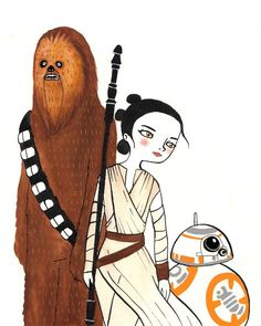Star Wars via MariaHesse. Click on the image to see more!