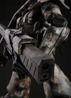 Zaku gun detail