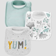 Baby Yum Bib - Just One You made by carter's Mist Blue Baby Boy Bibs, Carters Baby Boys, Baby Baby, Baby Newborn, Baby Jordans, Baby Bling, Gerber Baby, Camo Baby Stuff, Baby Education