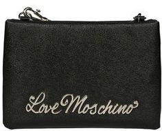 Love Moschino Women's Black Shoulder Bag.