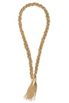 Manual de uso de los tassel: el collar de Aurélie Bidermann VOGUE ESPAÑA