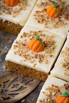 Pumpkin Sheet Cake with Cream Cheese Frosting   Cooking Classy