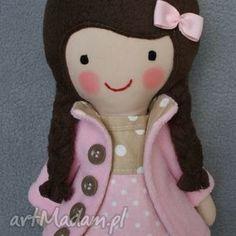 laleczka anetka, lalka, przytulanka, zabawka, prezent, niespodzianka, dziecko dla
