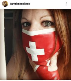 Hey, I found this really awesome Etsy listing at https://www.etsy.com/uk/listing/478983419/latex-nurse-face-mask-dress-up-rubber