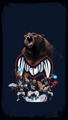 Monsters of the Midway Chicago Bears Helmet, Nfl Chicago Bears, Bears Football, Cincinnati Bengals, Indianapolis Colts, Chicago Bears Wallpaper, Chicago Bears Pictures, Cubs Team, Nfc North