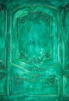 Green Oil Painted Door Backdrop for Photography Cool Backdrops, Oil Painting Texture, Fabric Backdrop, Fashion Painting, Painted Doors, Photography Backdrops, Photo Booth, Abstract, Green