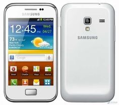 Celular Samsung S7500L Galaxy Ace Plus - Desbloqueado / MP3 / Bluetooth / Wi-Fi - Branco - MultiStock