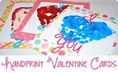 handprint valentines!!