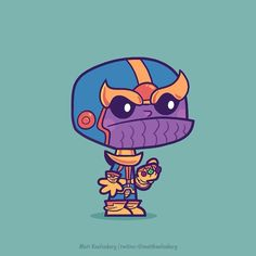 """""""Last one for the day and the first villain...Thanos! #marvel #guardiansofthegalaxy #avengers"""""""