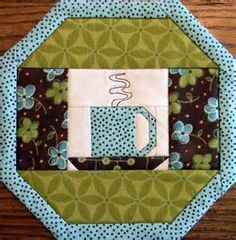 1000+ images about Mug Rugs on Pinterest | Potholders, Mug rug patterns and Placemat patterns