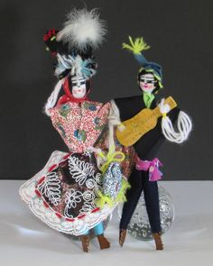 Exotic Handmade Portugal Dolls Puppets Authentic por DayJahView