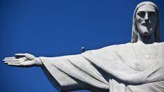 ¡Arriesgado trabajo! Inician reparación del dedo de Cristo Redentor en Río de Janeiro | Eyaculando Letras (Free Your Mind)