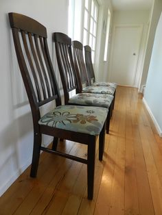 reupholster your kitchen chairs