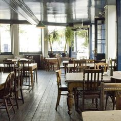 The Duke of Cambridge Organic Pub - London Wildlife Trust staff recommend this as one of their favourite sustainable restaurants in London
