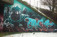 Awesome Graffiti from scotland