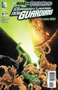 Green Lantern - New Guardians #15 Tony Bedard Aaron Kuder ---> shipping is $0.01!!!