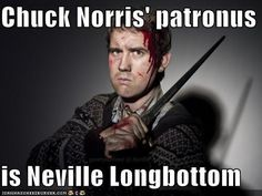 We need an Adventures of Neville Longbottom and Rory Williams-Pond: the world's most awesome sidekicks turned bad-asses. In cardigans.