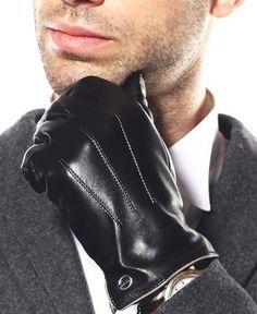 Luxury Men's Touchscreen Texting Winter Italian Nappa Leather Dress Driving Gloves (Cashmere/Wool/Fleece Lining) ( US Standard Size ), Black ( Fleece Lining )) Leather Driving Gloves, Leather Gloves, Leather Men, Best Winter Gloves, Oversized Fashion, Thing 1, Dress Gloves, Men's Gloves, Fingerless Gloves