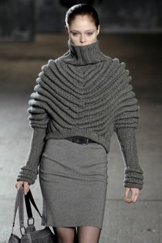 charcoal knits for Fall