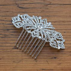 Adella Crystal Hair Comb