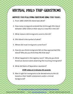 ELLIS ISLAND QR CODE ACTIVITY - IMMIGRATION - TeachersPayTeachers.com