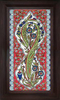 Turkish Art, Turkish Tiles, Islamic Wall Decor, Islamic Art, Islamic Gifts, Ramadan Decorations, Blue Pottery, Clay Tiles, Shape And Form
