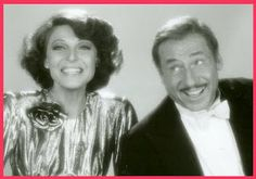 """Mel Brooks & Anne Bancroft as Frederick & Anna Bronski, singing Sweet Georgia Brown in Polish. (From the 1983 film """"To Be or Not To Be. Old Couples, Famous Couples, Couples In Love, Hollywood Fashion, Hollywood Glamour, Hollywood Couples, Michelle Phillips, Anne Bancroft, It Takes Two"""