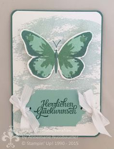 Stampin' Up! by First Hand Emotion: Watercolor Wings