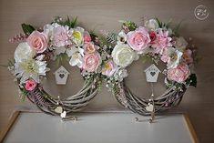 Fall Wreaths, Christmas Wreaths, Sewing Stuffed Animals, Wreath Crafts, Chantilly Lace, Sugar Art, Summer Wreath, Spring Crafts, Diy Flowers