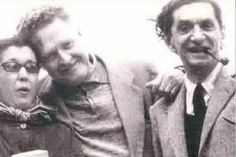 Abidin-Güzin Dino and Nazım Hikmet Ran.