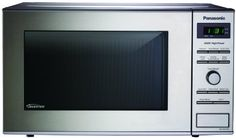 Panasonic NN-SD372S Stainless 950W 0.8 Cu. Ft. Countertop Microwave with Inverter Technology