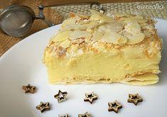 Krémeš trochu ináč - recept   Varecha.sk Camembert Cheese, Dairy, Pie, Cookies, Food, Hampers, Kuchen, Torte, Crack Crackers