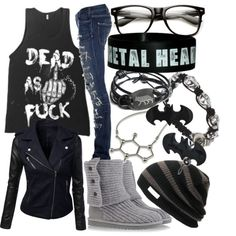 """""""Untitled #445"""" by littlemisstoxin on Polyvore"""