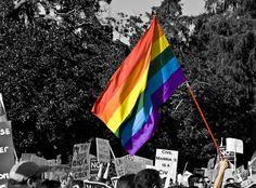 La historia de la bandera gay.