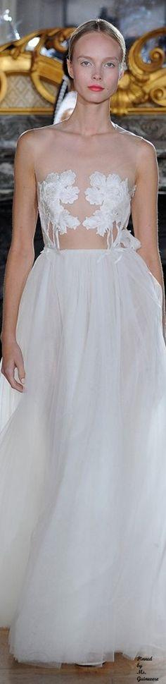 Kaviar Gouche White Iris Collection Bridal 2016 Berlin