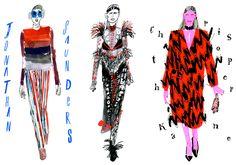 Miss Moss · Lauren Tamaki Fashion Drawings