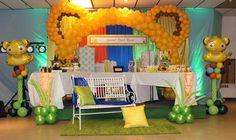 Lion King BabyShower #Itsaboy Lion King Theme, Lion King Party, Lion King Birthday, Baby Birthday, 1st Birthday Parties, Birthday Ideas, Lion King Baby Shower, Baby Boy Shower, Baby Shower Parties