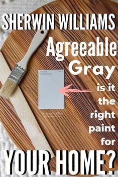 All About Sherwin Williams Agreeable Gray - Is it your perfect neutral / greige paint shade? Learn about undertones, similar shades, and see 30 real homes that use it!! Best Neutral Paint Colors, Popular Paint Colors, Favorite Paint Colors, Paint Colours, Sherwin Williams Perfect Greige, Sherwin Williams White, Anew Gray, Living Room Furniture Online, Greige Paint