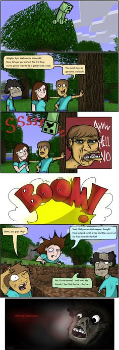 Minecraft funny