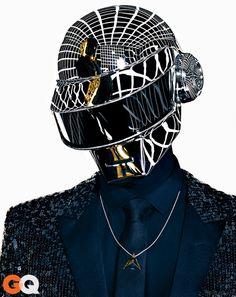 Daft Punk Profile Random Access Memories - GQ May 2013: Music: GQ. Thomas Bangalter.