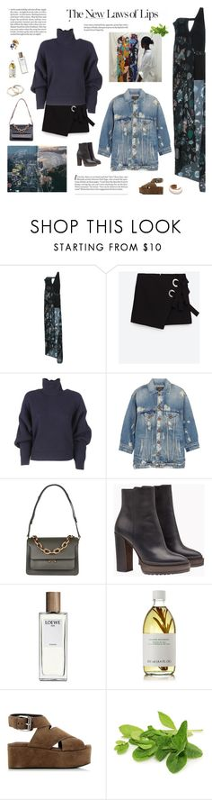 """""""Don't fck with me, I'll break your heart, baby"""" by mirela-k ❤ liked on Polyvore featuring Versus, Balenciaga, R13, Marni, Brunello Cucinelli, Loewe, Susanne Kaufmann and Alexander Wang"""