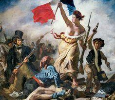 Eugène Delacroix, La liberté guidant le peuple  http://casaprints.com/fr/164-eugene-delacroix
