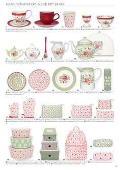 GreenGate Spring Summer catalogue 2020—Side 50 Shabby Vintage, Shabby Chic, Rainbow Kitchen, Pencil Illustration, Copenhagen, Colored Pencils, Tea Time, Gate, Catalog