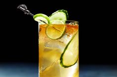 Rum, ginger, and a special twist make the Caribbean Storm a most refreshing fall cocktail.