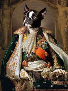 Dog Canvas Painting, Dog Paintings, Magazine Collage, Famous Art, Dog Portraits, Custom Art, Belle Photo, New Art, Fine Art Prints