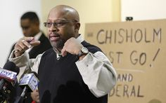 Craig Stingley, father of Corey Stingley, blasts the investigation run by District Attorney John Chisholm during a news conference in January 2014 at the Center Street Library.