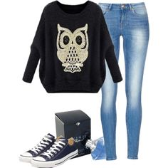 Untitled #492 by mustachemaniac03 on Polyvore featuring polyvore fashion style Converse